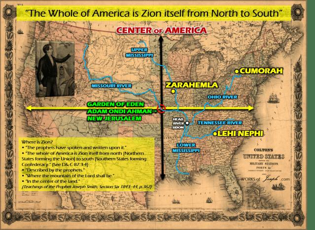 Eden Cradle Of Civilization Book Of Mormon Evidence