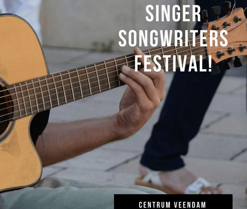 Singer Songwriters gezocht voor populair festival in Veendam