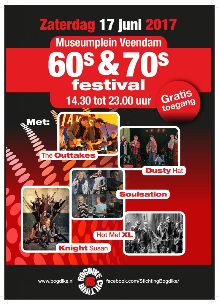 Back in time tijdens het Bogdike 60/70 festival in Veendam