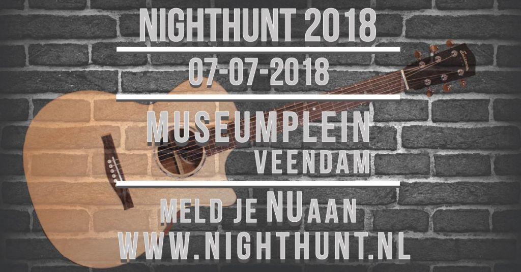 Meld je nu aan voor de NightHunt 2018!