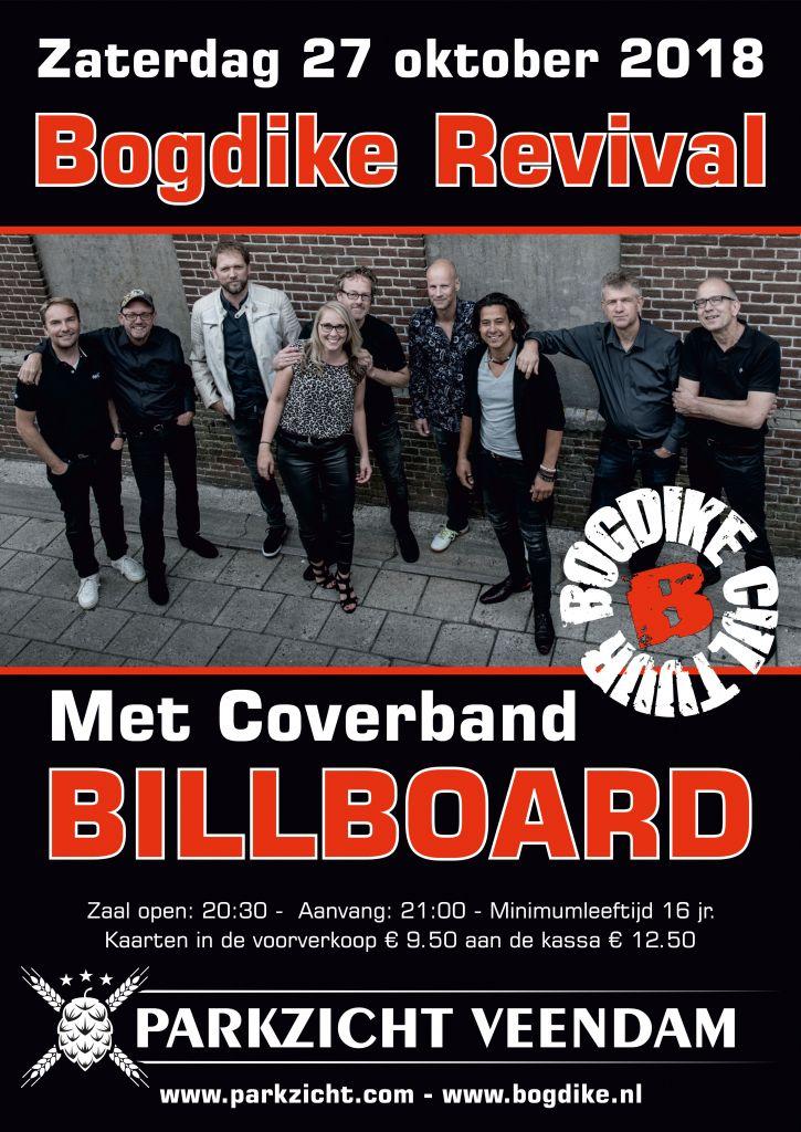 Bogdike Revival brengt leven in de brouwerij in Brouwhotel Parkzicht Veendam