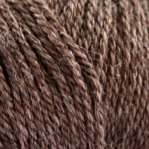 Nettle Sock Yarn 1034 choko brun