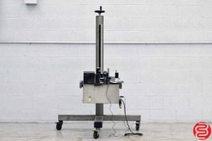 Label-Aire 2111M Pressure Sensitive Blow Spot Labeler
