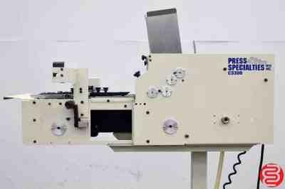 Press Specialties C-3300 Envelope Feeder