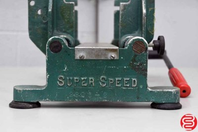 Super Speed Manual Banding Press - 032619024512