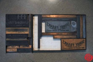 Assorted Letterpress Ornaments - 053019010122
