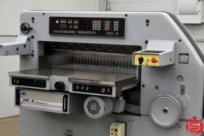 Schneider Senator 92 MC2 Programmable Paper Cutter - 110919100249