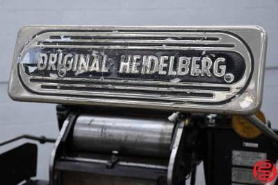 Heidelberg 10 x 15 Red Ball Windmill Letterpress - 010620013545