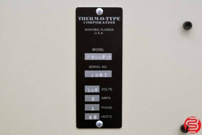 Therm-O-Type Super Quad 12 Business Card Slitter - 011120105620