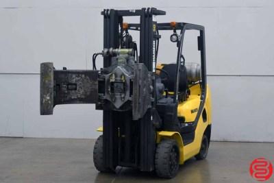 2009 Hamech G25ST-16 Forklift w Roll Clamp - 021320104530