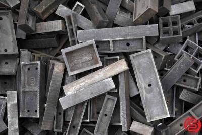 Assorted Metal Letterpress Furniture - 338 lbs - 022020032520