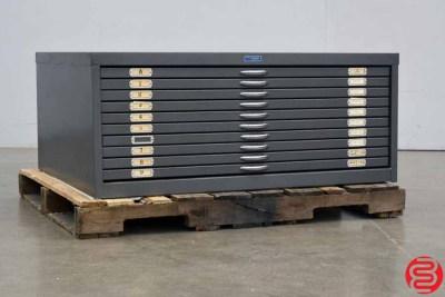 Foster Metal Flat Filing Cabinet - 021120102545