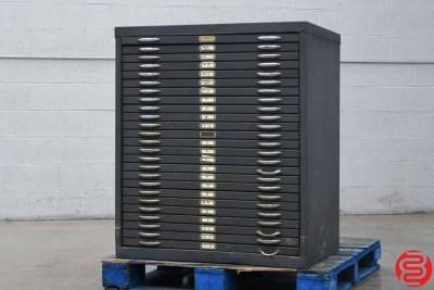 Letterpress Type Cabinet - 25 Drawers - 022020114130