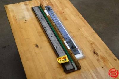 Mandelli Star 100 Hydraulic Programmable 30 Paper Cutter - 021720100250