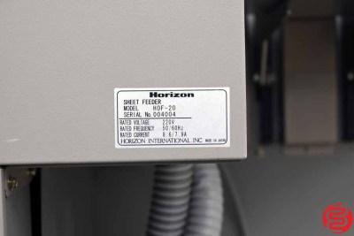 Standard Horizon HOF-20 Sheet Feeder - 020320111445
