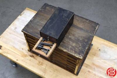 Tabletop Letterpress Cabinet - 022020115140