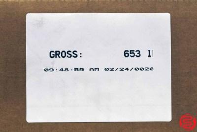 Assorted Letterpress Metal Furniture - 653 lbs - 022420105010