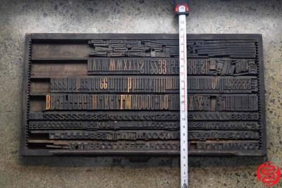Assorted Letterpress Wood Type - 022120113620