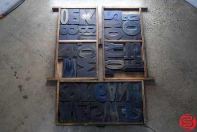 Assorted Letterpress Wood Type - 022220120720