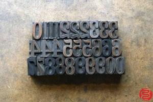 Assorted Letterpress Wood Type - 1 - 032620081530