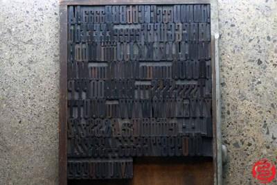 Assorted Letterpress Wood Type - 2 - 032620074220