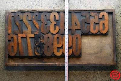 Assorted Letterpress Wood Type - 6 - 032520092910