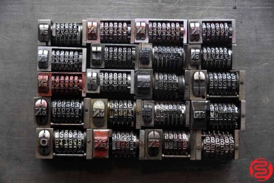 Numbering Machines - Qty 20 - 022520013855