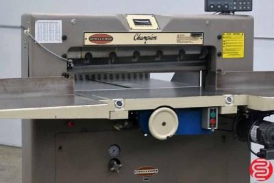 Challenge 305 MC 30.5 Hydraulic Paper Cutter - 040720020200