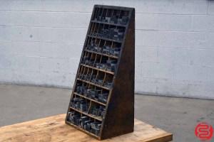 Letterpress Furniture Cabinet - 040220090010