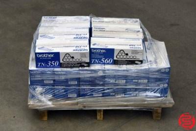 Assorted Brother Toner Cartridges - 050120114330