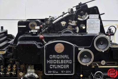 Heidelberg KS 38 x 52 Cylinder Die Cutter - 051820091100