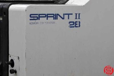 Komori Sprint II 228 Two Color Offset Press - 050420094920