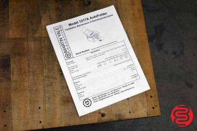"""Martin Yale 1217A Autofolder 12"""" x 17"""" Paper Folder - 062020100750"""