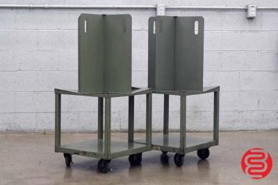 Quadracart Paper / Bindery Cart - Qty 2 - 022220022120
