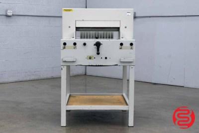 "Triumph Ideal 4850 18.5"" Programmable Paper Cutter - 070620090850"