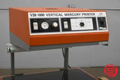 Amergraph V28-1000 Vertical Mercury Printer - 071720105500