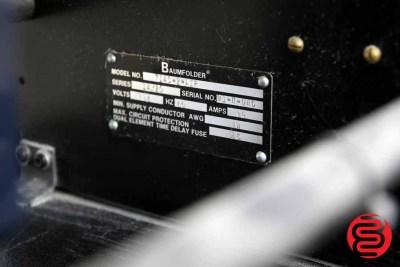 Baumfolder Ultrafold 714 Air Feed Paper Folder - 072020103610
