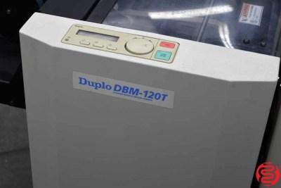 Duplo DBM-120 Booklet Maker w/ Trimmer - 082120014750