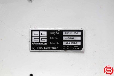 Gammerler RS-113-530 Knife Trimmer - 082620030930