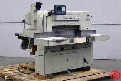 Polar 90 EL Programmable Paper Cutter w/ Microcut - 081720014910