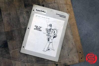 "Acme Interlake S3A 7/8"" Flat Book / Saddle Stitcher - 090320022310"