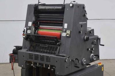 Heidelberg GTO 52 One Color Offset Printing Press - 090920021010