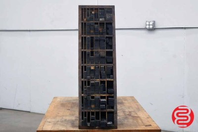 Assorted Letterpress Furniture - 091020101200