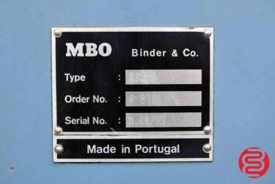 MBO B26 Continuous Feed Paper Folder - 091520012020