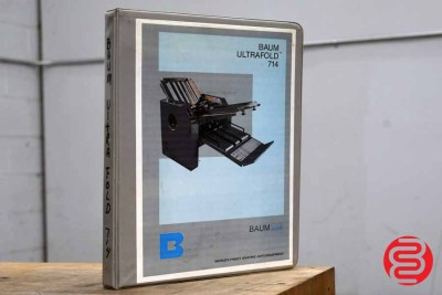 Baum 714 Vacuum Feed Paper Folder - 092320121920