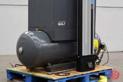 2012 Atlas Copco GX7 Rotary Screw Air Compressor - 101220110850