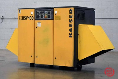 Kaeser BSV 100 25hp Rotary Screw Vacuum Pump - 102920110010