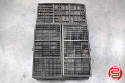 Assorted Letterpress Hamilton Type Cabinet Drawers - 112520072010