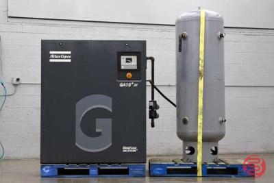 2011 Atlas Copco GA15 Air Compressor - 122220020920