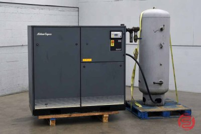Atlas Copco GA 37 Oil-Injected Rotary Screw Air Compressor - 122220013220